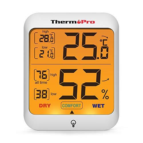 Einige Produktcharakteristiken in der Produktübersicht - Der TP53 Hygrometer von ThermoPro